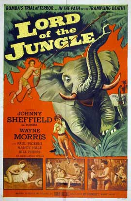 Lord of the Jungle - 27 x 40 Movie Poster - Style A