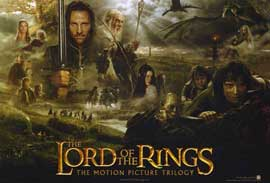 Lord of the Rings Trilogy - 11 x 17 Movie Poster - Style A