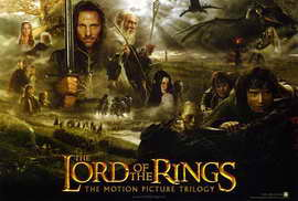 Lord of the Rings Trilogy - 27 x 40 Movie Poster - Style A
