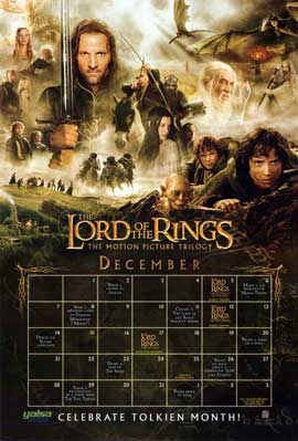 Lord of the Rings Trilogy - 11 x 17 Movie Poster - Style B