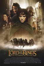 """Lord of the Rings 1: The Fellowship of the Ring"" Movie Poster"