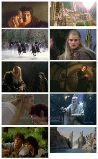 Lord of the Rings 1: The Fellowship of the Ring - Set of 48 - 8 x 10 Color Photos