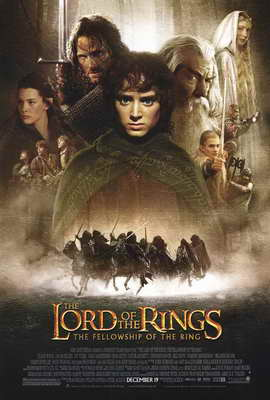 Lord of the Rings 1: The Fellowship of the Ring - 27 x 40 Movie Poster - Style A
