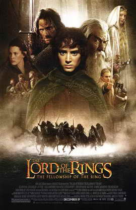Lord of the Rings 1: The Fellowship of the Ring - 11 x 17 Movie Poster - Style B