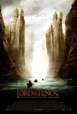 Lord of the Rings 1: The Fellowship of the Ring - 11 x 17 Movie Poster - Style C