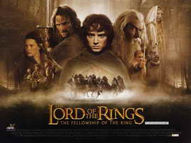 Lord of the Rings 1: The Fellowship of the Ring - 11 x 17 Movie Poster - Style E