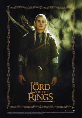Lord of the Rings 1: The Fellowship of the Ring - 11 x 17 Movie Poster - Style G