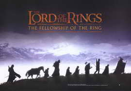 Lord of the Rings 1: The Fellowship of the Ring - 11 x 17 Movie Poster - Style I