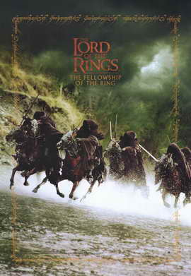 Lord of the Rings 1: The Fellowship of the Ring - 11 x 17 Movie Poster - Style K
