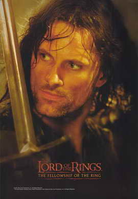 Lord of the Rings 1: The Fellowship of the Ring - 11 x 17 Movie Poster - Style L