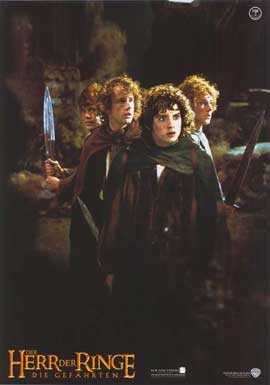 Lord of the Rings 1: The Fellowship of the Ring - 11 x 14 Poster German Style E