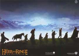 Lord of the Rings 1: The Fellowship of the Ring - 11 x 14 Poster German Style F