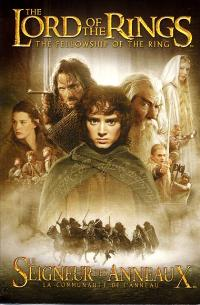Lord of the Rings 1: The Fellowship of the Ring - 27 x 40 Movie Poster - French Style A