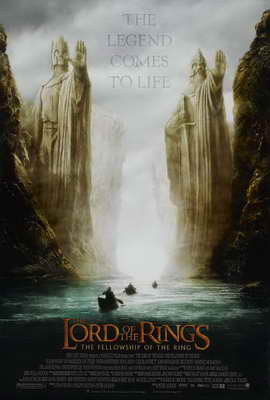 Lord of the Rings 1: The Fellowship of the Ring - 27 x 40 Movie Poster - Style C
