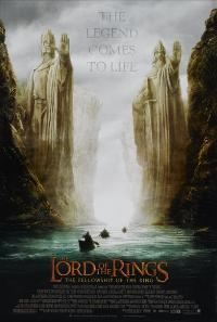 Lord of the Rings 1: The Fellowship of the Ring - 43 x 62 Movie Poster - Bus Shelter Style B
