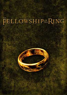 Lord of the Rings 1: The Fellowship of the Ring - 11 x 17 Movie Poster - Style P