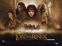 Lord of the Rings 1: The Fellowship of the Ring - 11 x 17 Movie Poster - Style E - Museum Wrapped Canvas