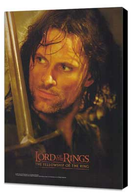 Lord of the Rings 1: The Fellowship of the Ring - 11 x 17 Movie Poster - Style L - Museum Wrapped Canvas