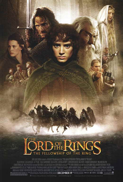 Lord Of The Rings Movie Poster The Lord of the Rings The