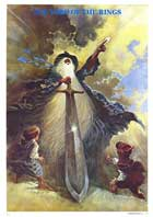The Lord of the Rings - 27 x 40 Movie Poster - Italian Style A