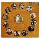 The Lord of the Rings - The Hobbit An Unexpected Journey Cast Pin Set 13-Pack
