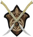 The Lord of the Rings - Lord of the Rings Fighting Knives of Legolas Replica