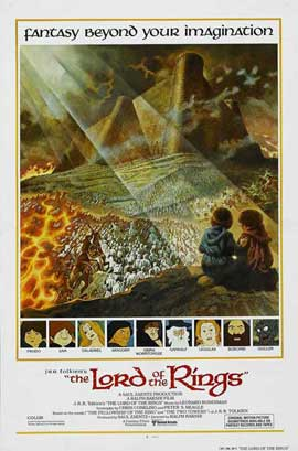 The Lord of the Rings - 27 x 40 Movie Poster - Style A