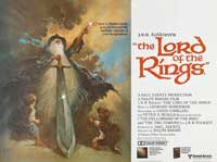 The Lord of the Rings - 30 x 40 Movie Poster UK - Style A