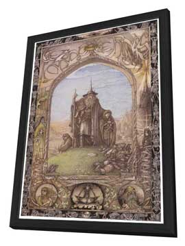 The Lord of the Rings - 11 x 17 Movie Poster - Style D - in Deluxe Wood Frame