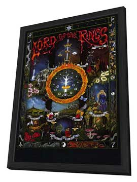 The Lord of the Rings - 11 x 17 Movie Poster - Style B - in Deluxe Wood Frame