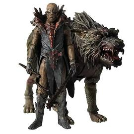 The Lord of the Rings - The Hobbit 3 3/4-Inch Orc on Warg Beast Pack