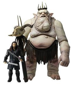 The Lord of the Rings - The Hobbit Goblin King with Thorin Figure Battle Pack