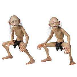 The Lord of the Rings - Lord of the Rings Gollum and Smeagol 1:4 Scale Figures