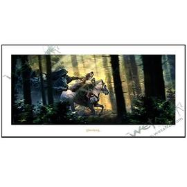 The Lord of the Rings - Lord of the Rings Fight to the Ford Fine Art Print
