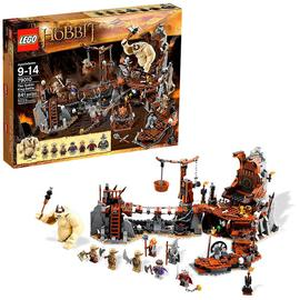The Lord of the Rings - LEGO The Hobbit Goblin King Battle