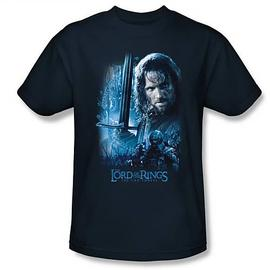 The Lord of the Rings - Lord of the Rings King in the Making Navy T-Shirt