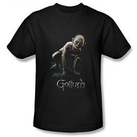 The Lord of the Rings - Lord of the Rings Gollum Black T-Shirt