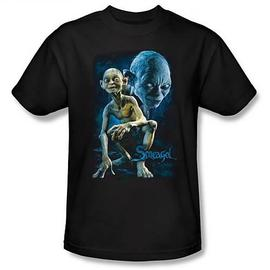The Lord of the Rings - Lord of the Rings Smeagol Black T-Shirt