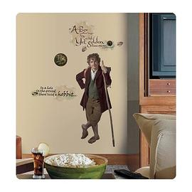 The Lord of the Rings - Hobbit Bilbo Baggins Giant Peel and Stick Wall Decal