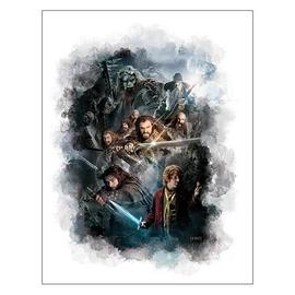 The Lord of the Rings - The Hobbit An Unexpected Journey Cast Ensemble Wall Graphix