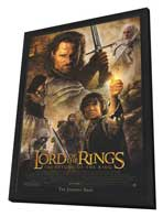 Lord of the Rings: The Return of the King - 11 x 17 Movie Poster - Style K - in Deluxe Wood Frame