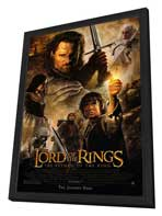Lord of the Rings: The Return of the King - 27 x 40 Movie Poster - Style A - in Deluxe Wood Frame