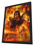 Lord of the Rings: The Return of the King - 27 x 40 Movie Poster - Style G - in Deluxe Wood Frame