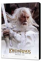 Lord of the Rings: The Return of the King - 11 x 17 Movie Poster - Style F - Museum Wrapped Canvas