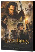 Lord of the Rings: The Return of the King - 11 x 17 Movie Poster - Style K - Museum Wrapped Canvas