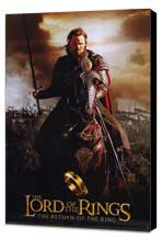 Lord of the Rings: The Return of the King - 11 x 17 Movie Poster - Style N - Museum Wrapped Canvas