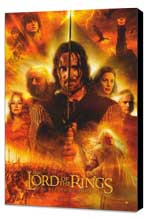Lord of the Rings: The Return of the King - 27 x 40 Movie Poster - Style G - Museum Wrapped Canvas