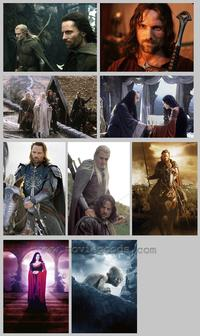 Lord of the Rings: The Return of the King - Set of 32 - 8 x 10 Color Photos