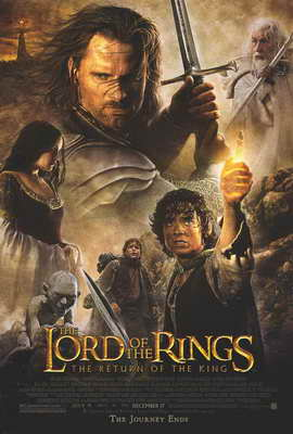 Lord of the Rings: The Return of the King - 11 x 17 Movie Poster - Style K