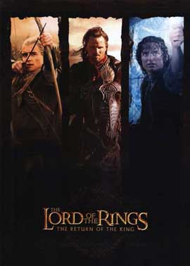 Lord of the Rings: The Return of the King - 11 x 17 Movie Poster - Style J